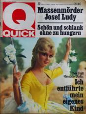 Quick N°10 du 06/03/1968 - Couverture - Format classique