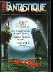 L'Ecran Fantastique - Le Mensuel Cinema / Video Du Fantastique Et De La Science-Fiction - Couverture - Format classique