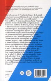 Desports ; Des Bleus Dans Les Yeux - 4ème de couverture - Format classique