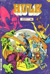 Hulk 19 - Couverture - Format classique