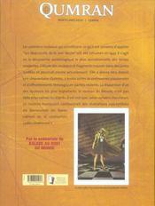 Qumran t.2 ; le rouleau de la femme - 4ème de couverture - Format classique