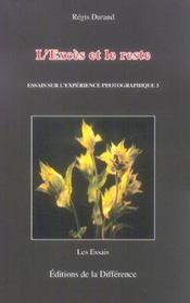 Exces Et Le Reste (L') - Intérieur - Format classique