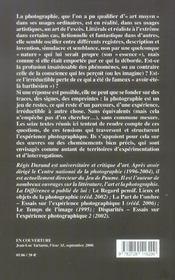 Exces Et Le Reste (L') - 4ème de couverture - Format classique