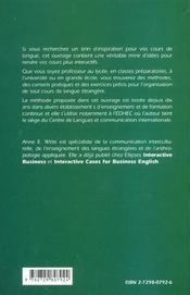 Le Cours De Langues Interactif Outils Et Methode - 4ème de couverture - Format classique