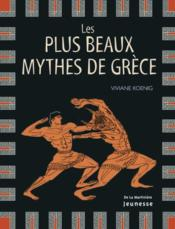 Les plus beaux mythes de Grèce - Couverture - Format classique