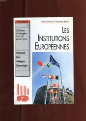 Les institutions européennes - Couverture - Format classique