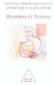 Diasporas Et Nations - Intérieur - Format classique