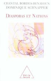 Diasporas Et Nations - Couverture - Format classique