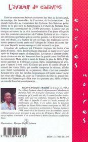 L'Avaleur De Cadavres - 4ème de couverture - Format classique