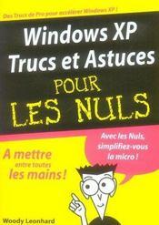 Windows XP trucs et astuces pour les nuls - Intérieur - Format classique