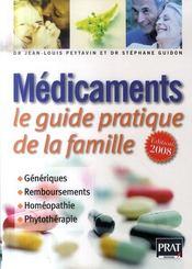 Médicaments, le guide pratique (édition 2008) - Intérieur - Format classique