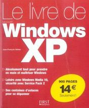 Le Livre De Windows Xp - Intérieur - Format classique