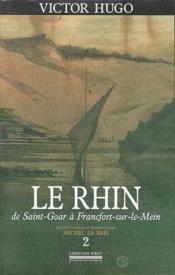 Le Rhin t.2 - Couverture - Format classique