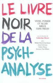 Le Livre Noir De La Psychanalyse - Intérieur - Format classique