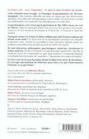 Le Livre Noir De La Psychanalyse - 4ème de couverture - Format classique