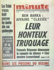 Minute N°208 du 24/03/1968 - Couverture - Format classique