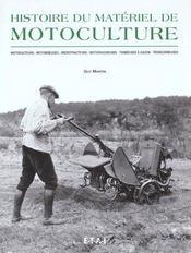 Histoire du matériel de motoculture - Intérieur - Format classique