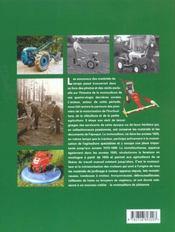 Histoire du matériel de motoculture - 4ème de couverture - Format classique
