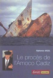 Le procès de l'Amoco Cadiz - Intérieur - Format classique