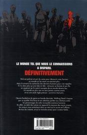 Walking dead t.1 ; passé décomposé - 4ème de couverture - Format classique