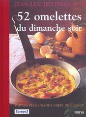 52 Omelettes Du Dimanche Soir - Intérieur - Format classique