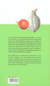 Tous Les Legumes - 4ème de couverture - Format classique