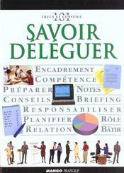 Savoir Deleguer - Intérieur - Format classique