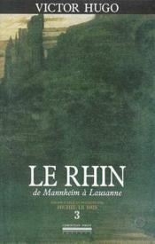 Le Rhin t.3 - Couverture - Format classique