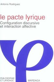 Pacte Lyrique - Intérieur - Format classique