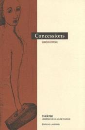 Concessions - Couverture - Format classique