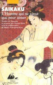 Homme Qui Ne Vecut Que Pour Aimer Les Femmes (L') - Intérieur - Format classique