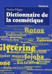 Dictionnaire de la cosmétique - Intérieur - Format classique