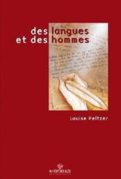 Des langues et des hommes, 2000 - Couverture - Format classique