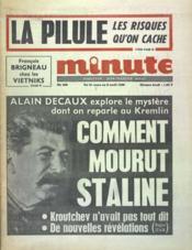 Minute N°209 du 31/03/1968 - Couverture - Format classique