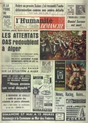 Humanite Dimanche (L') N°717 du 20/05/1962 - Couverture - Format classique