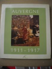 Auvergne 1911-1917 - Couverture - Format classique