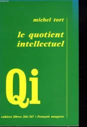 Le Quotient Intellectuel - Couverture - Format classique