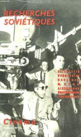 Recherches Sovietiques - Couverture - Format classique