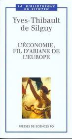 L'économie, fil d'Ariane de l'Europe - Intérieur - Format classique