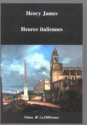 Heures italiennes - Intérieur - Format classique
