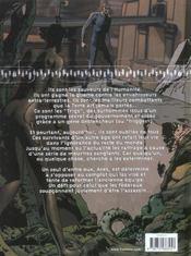 Trigs T.1 ; Ares - 4ème de couverture - Format classique