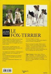 Fox Terrier - 4ème de couverture - Format classique