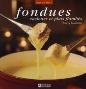 Fondues, raclettes et plats flambés - Intérieur - Format classique