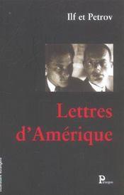 Lettres d'amerique - Intérieur - Format classique