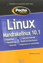 Poche Micro Linux Mandrake Linux 10.1 - Couverture - Format classique
