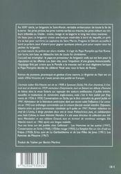 Le Brigantin Du Pape - 4ème de couverture - Format classique