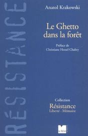 Le Ghetto Dans La Foret - Intérieur - Format classique