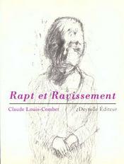 Rapt Et Ravissement - Intérieur - Format classique