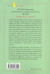 Legion Notre Mere - 4ème de couverture - Format classique