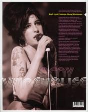 Amy Winehouse ; diva rebelle - 4ème de couverture - Format classique